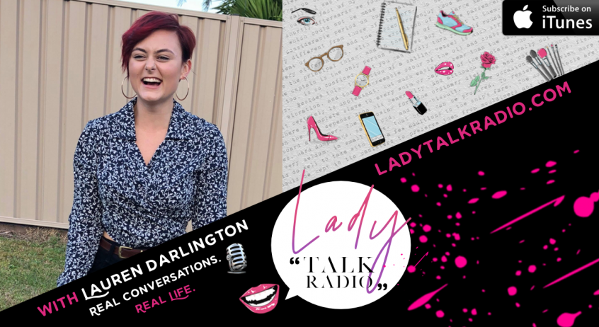 lauren darlington, lady talk radio, we are lady alpha